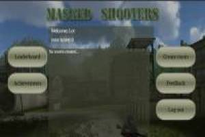 Multiplayer Masked Shooters