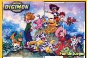 Free Digimon puzzle Game