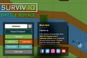 Surviv. Io Battle Royale
