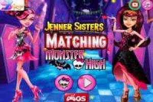 Jenner Sisters: Dress up as Monster High