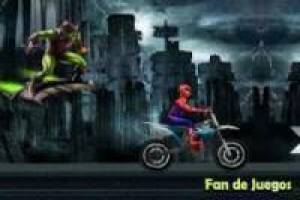 Spiderman s'échappe du gobelin