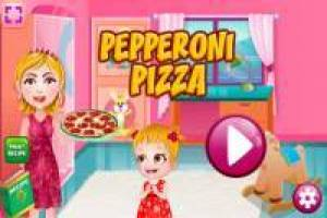 Mama Hazel: Prepare Pepperoni Pizza