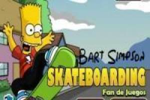 Bart Simpson, skateboard