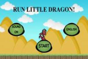 Make the little dragon run