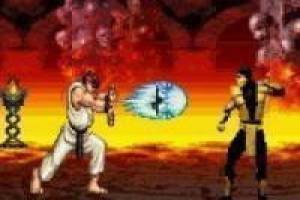 Gratis Mortal Kombat vs Street Fighter: Rio vs Scorpion Spille