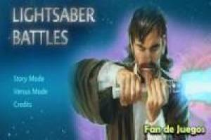 Star wars, lightsaber battles