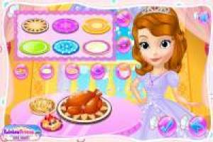 Princess Sofia prepares Thanksgiving dinner at the palace