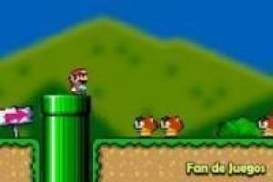 Mario World Flash-