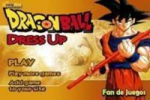 Vestir a Goku, dragon ball