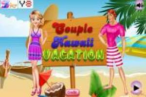 Funny honeymoon in Hawaii