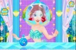 Ariel in the marine spa