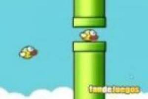 Flappy Bird. Pájaro amarillo