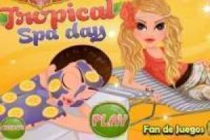 Spa tropical para chicas