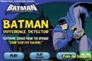 Batman, las cinco diferencias