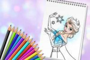 Principesse Disney: album da colorare