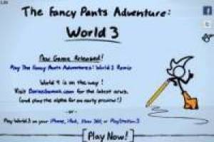 Fancy Pants: World 3