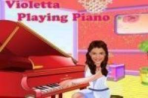 Free Violetta playing piano Game