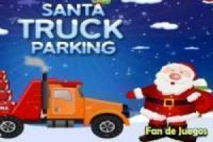 Free Santa claus, parking Game