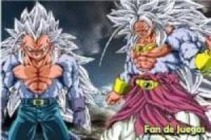 Goku and Vegeta ssj 5, puzzles
