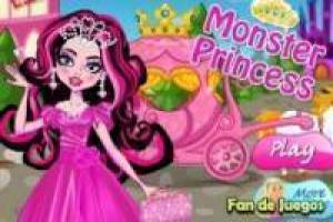 Dress up the monster princesses