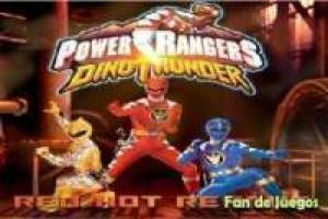 Power Rangers escapar