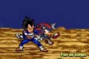 Vegeta vs Sonic Shadow : Animación