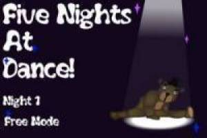 Five Night dance FNAF