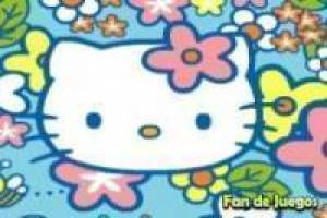Hello kitty con las abejas
