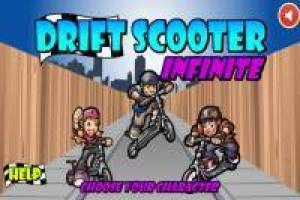 Drifting scooter