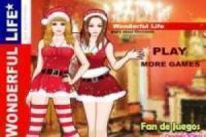 Free Christmas girls Game