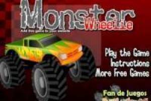 Free Monster wheelie Game