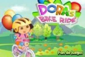 Dora the Explorer fiets