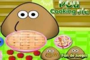 Free Pou kitchens Game