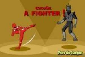Robot vs Power Rangers