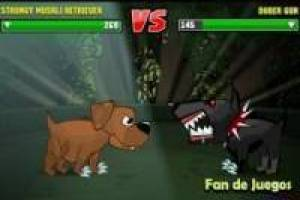 Fighting mutant dogs