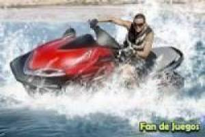 Waterscooters racen
