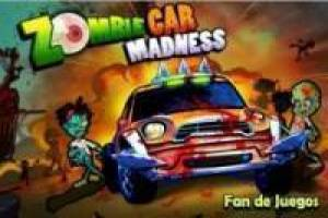 Free Zombie car madness Game