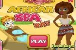 Een dag in de spa-Afrika