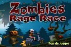 Zombies rage race