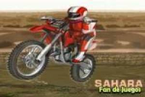 Motocross in der Sahara
