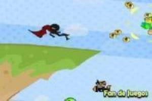 Free Stickman superhero Game