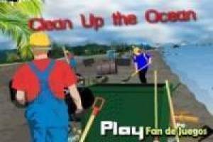 Free Clean the ocean Game