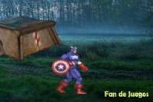 Captain america vs bugs