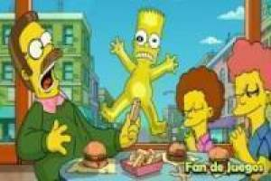 Simpsons: Letras escondidas