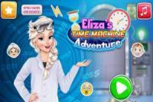 Elsa: aventure avec la Time Machine