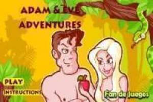 Lost Adam and Eve in Eden