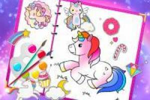 Fabulous Unicorns: Coloring Album