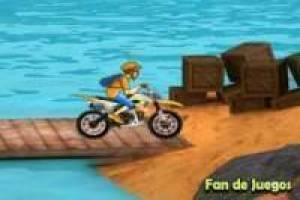 Motocross on the beach 3d