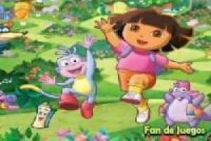 Dora the Explorer verzamelt diamanten