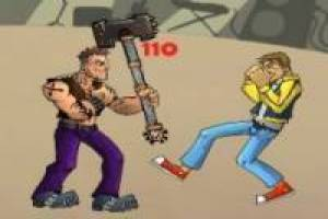 Juego Rock school fight Gratis